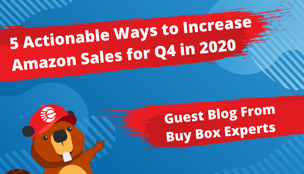 5 Actionable Ways to Increase Amazon Sales for Q4 in 2020 - Guest Blog by Buy Box Experts