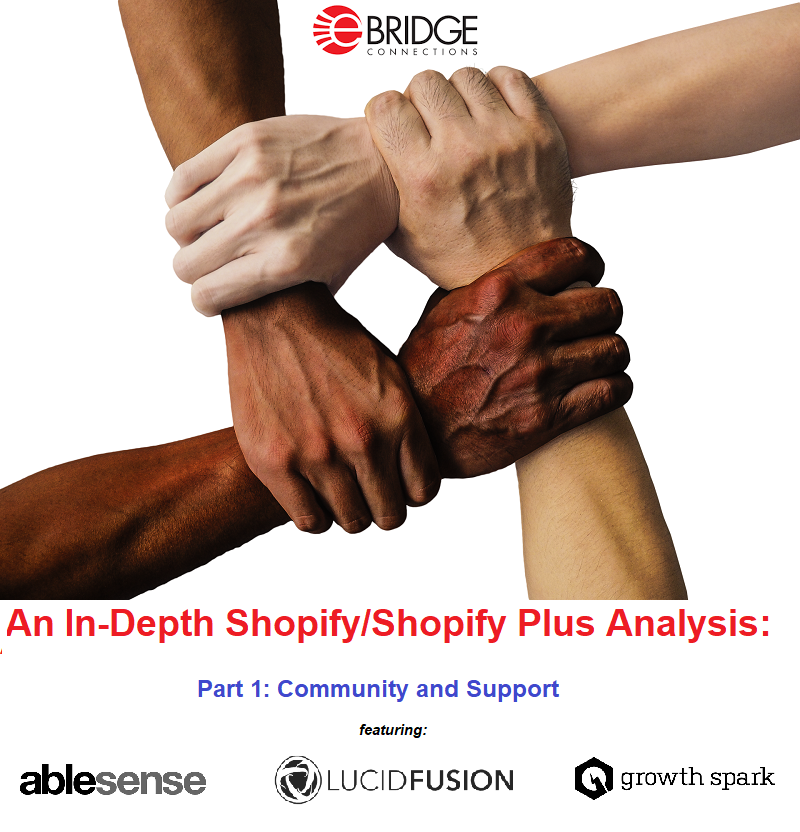 Shopify/Shopify Plus analysis through the eyes of AbleSense, Lucid Fusion, and Growth Spark. Part 1: The Shopify Community and experiences with Shopify support