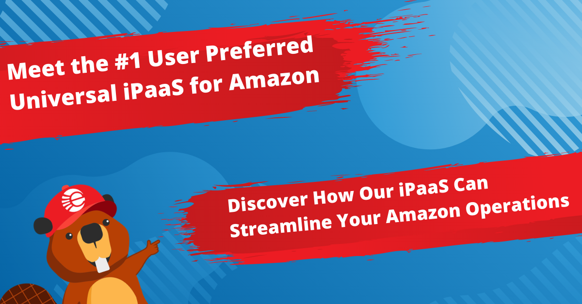 The #1 User Preferred Universal iPaaS for Amazon