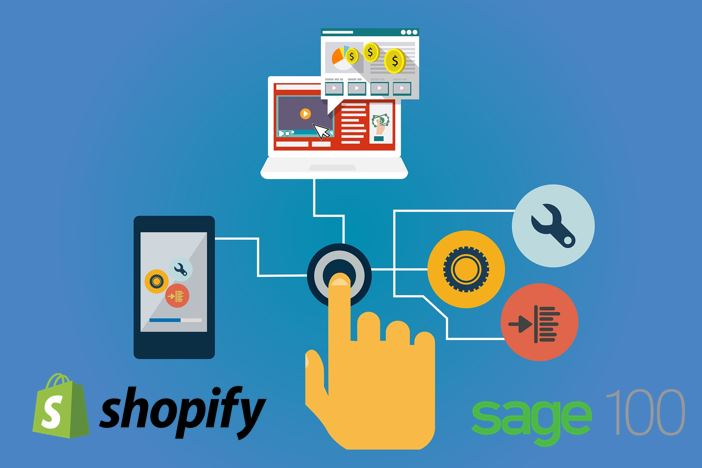 Shopify and Sage 100 ERP Integration and Sync Makes Life Easier For Busy Online Retailers