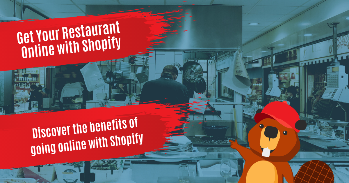 Get Your Restaurant Online With Shopify
