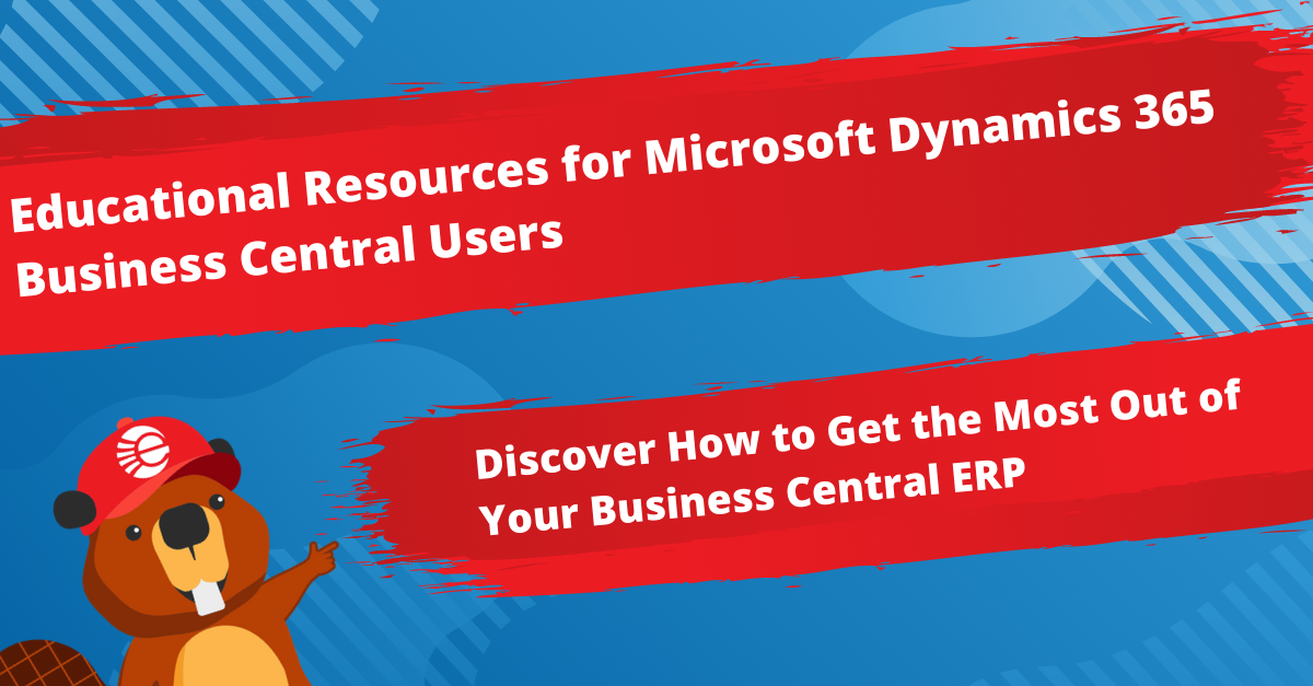 Microsoft Dynamics 365 Business Central Educational Resources