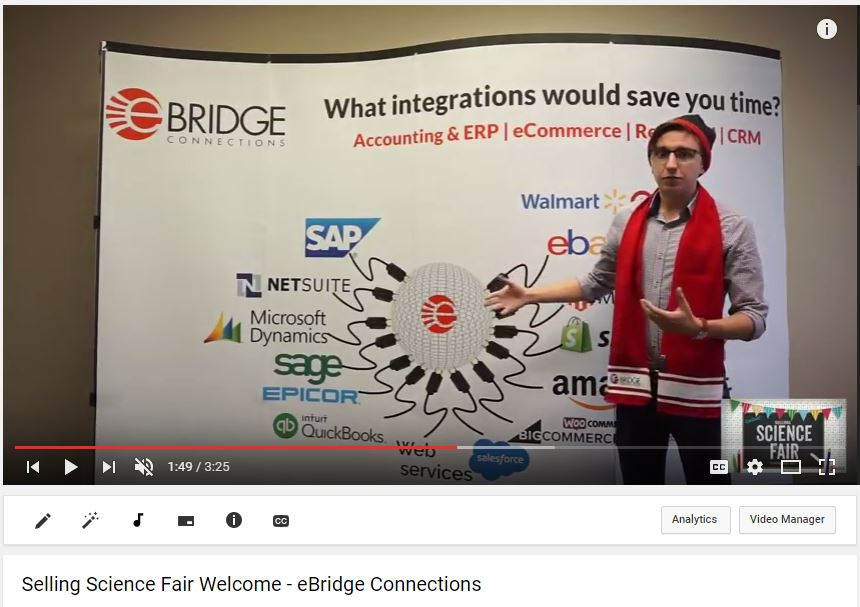 Integrating eCommerce ERP and EDI using eBridge