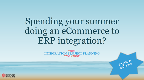 eCommerce and ERP sync and integration workbook